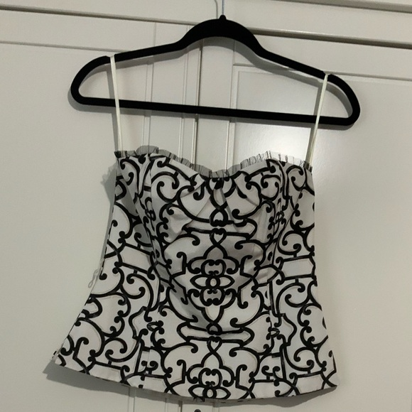 White House Black Market Tops - NWOT White House Black Market corset size 4